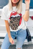 Bomshe Lip Printed Graphic T-shirt