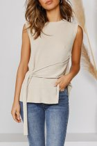 Bomshe Asymmetrical Apricot Camisole