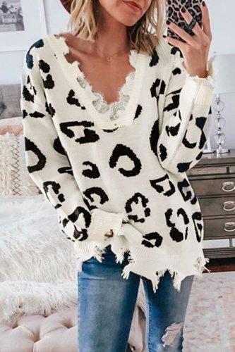 Bomshe Asymmetrical White Sweater
