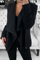 Bomshe Asymmetrical Grey Coat(2 Colors)