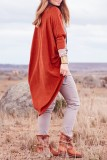 Bomshe Loose Watermelon Red Cardigan(2 Colors)