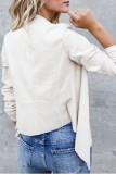 Bomshe Asymmetrical Dark Grey Coat(3 Colors)