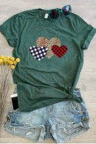 Uniqdress Heart Green T-shirt