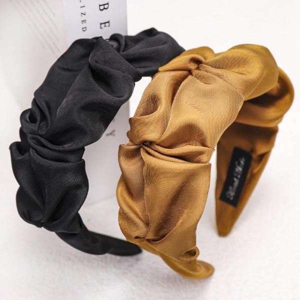 Roselypink Fold Yellow Headband (2 Colors)