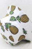 Roselypink Banana Print White Hat(3 Colors)