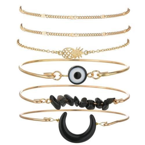 Roselypink Bohemian Gold Bracelet