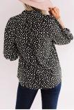 Roselypink Leopard Dot Printed Blouse (2 Colors)