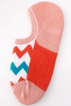 Dokifans Patchwork Pink Socks(5 Pairs) (2 Colors)