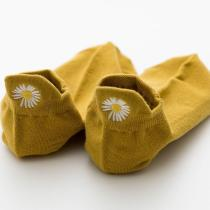 Dokifans Daisy Yellow Socks(5 Pairs) (4 Colors)