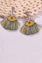 Dokifans Tassel Design Multicolor Earring