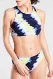 Dokifans Tie-dye Print Tankini Bikini Set (2 Colors)