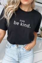 Dokifans Letter Be Kind T-shirt (2 Colors)