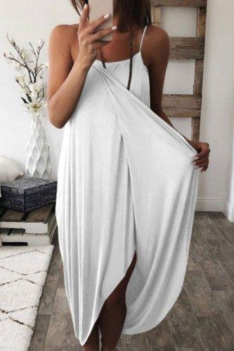 Dokifans Stylish Loose Maxi Dress (3 Colors)