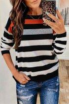 Dokifans Striped Black T-shirt