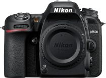 D7500 DSLR 4K Video Camera (Body Only) - Black
