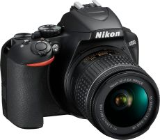 D3500 DSLR Video Two Lens Kit with AF-P DX NIKKOR 18-55mm f/3.5-5.6G VR & AF-P DX NIKKOR 70-300mm f/4.5-6.3G ED - Black
