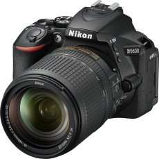 D5600 DSLR Video Camera with AF-S DX NIKKOR 18-140mm f/3.5-5.6G ED VR Lens - Black