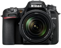 D7500 DSLR 4K Video Camera with AF-S DX NIKKOR 18-140mm f/3.5-5.6G ED VR lens - Black