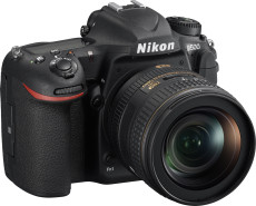 D500 DSLR Camera with 16-80mm Lens - Black