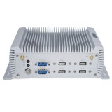 Fanless Industrial PC with Dual Intel Lan Port P12