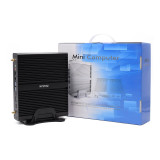 Mini Fanless Industrial PC Core i3 i5 and i7 CPU