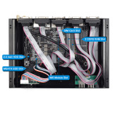 Dual Lan Mini Industrial PC K4 Celeron J4125