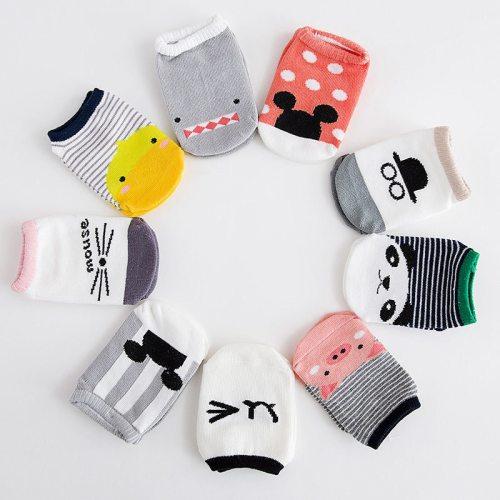 Baby Anti Slip Socks Non-slip Baby Toddler Low Cut Socks Shoes Slippers Boys Girls Children's Low Cut Socks Booties Kids Socks