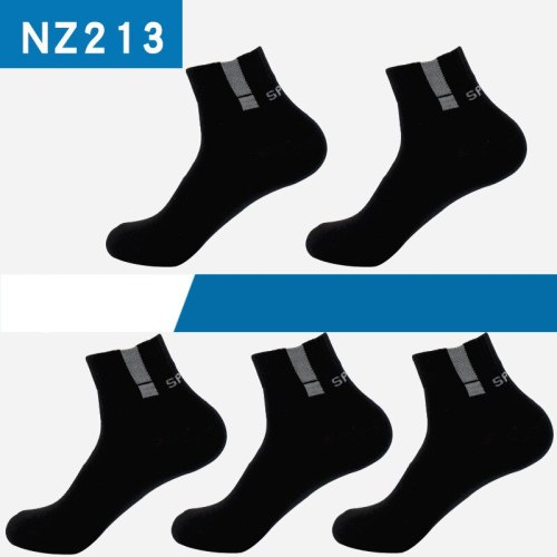 5 Pairs Men Socks Sport Business Durable Stitching Solid Sock Male Boy Stretchy Excellent Quality Meias Sock EU 39-45 Meias