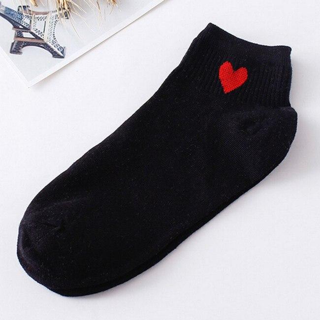 24Colors носки женские girl Striped socks woman short socks summer comfortable Harajuku socks women's short socks ankle