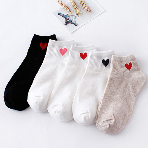 24Colors носки женские girl Striped socks woman short socks summer comfortable Harajuku socks women's short socks ankle