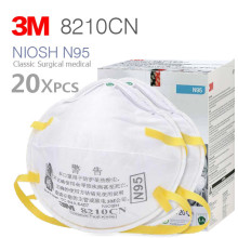 3M 8210/8210CN N95 Filtering Facepiece NIOSH Approved For Healthcare