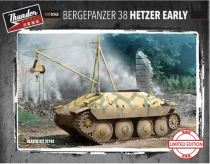 Thunder Model 1/35 35103 WWII German Bergepanzer 38 (Hetzer Early Ver., Limited)