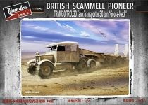 Thunder Model 1/35 35207 WWII British Scammell Pioneer TRMU30/TRCU30  Goose-Neck