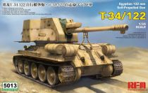 RMF 1/35 RM-5013 Egyptian 122mm Self-Propelled Gun