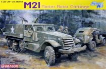 Dragon 1/35 6362 WWII US M21 81mm M1 Mortar Motor Carriage Half-Track