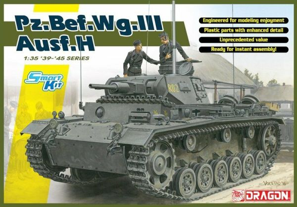 Details about  DRAGON 6844 1/35 Pz.Bef.Wg.III Ausf. H (Smart Kit)