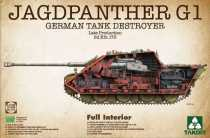 Takom 1/35 2106 TAKOM JAGDPANTHER G1 LATE PRODUCTION Sd.Kfz173 model kit