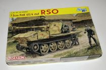DRAGON 1/35 6640 7.5CM PAK 40/4 AUF RSO model kit