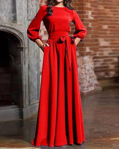 Women Elegant Evening Party Maxi Dress