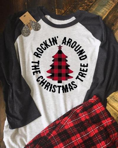 Christmas Tree T-Shirt Tee