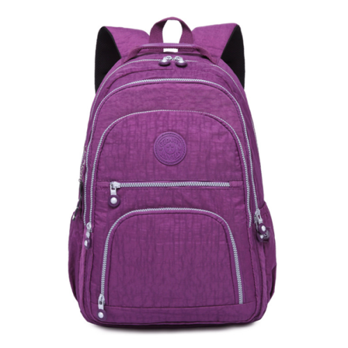 Outdoor Travel Waterproof Nylon Casual Multi Pockets Backpack