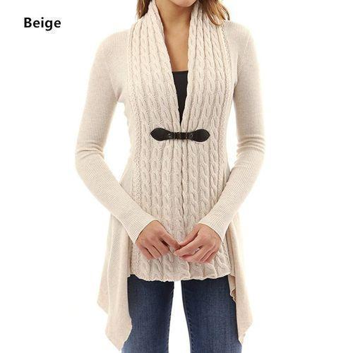 Fantastic Women Long Sleeve Sweater Casual Knitted Cardigan Outwear