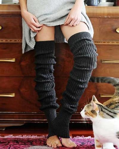 Warm Over Knee Socks Leg Warmers
