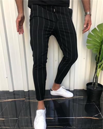 Checked Printed Casual Pants