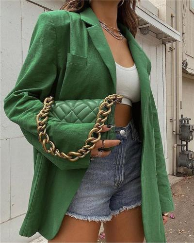 Loose Shoulder Pads All-match Fashionable Casual Suit