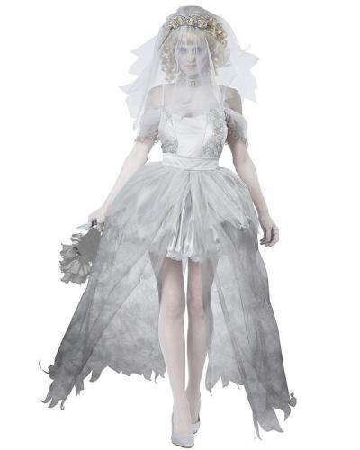 Halloween Cosplay Ghost Bride Dress
