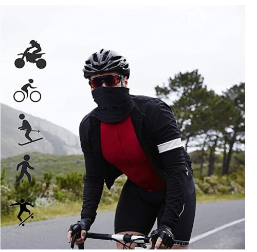 4 Pcs Breathable Multi Function Men Bike Headband Cycling Bandana Pirate hat