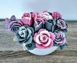 BK1070 3D Rose Flower
