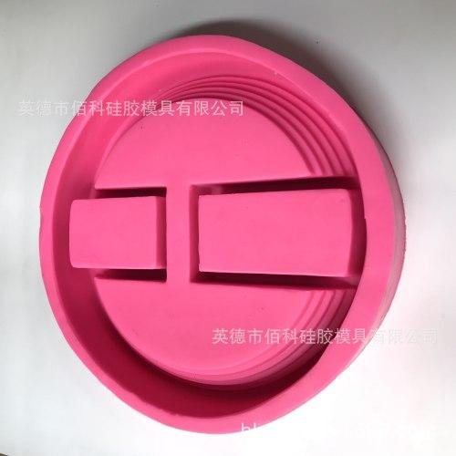 BK2019 round concretestaircase flowerpot floral personality pot mold