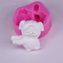 BK1108 cute hand holding flower dog plaster